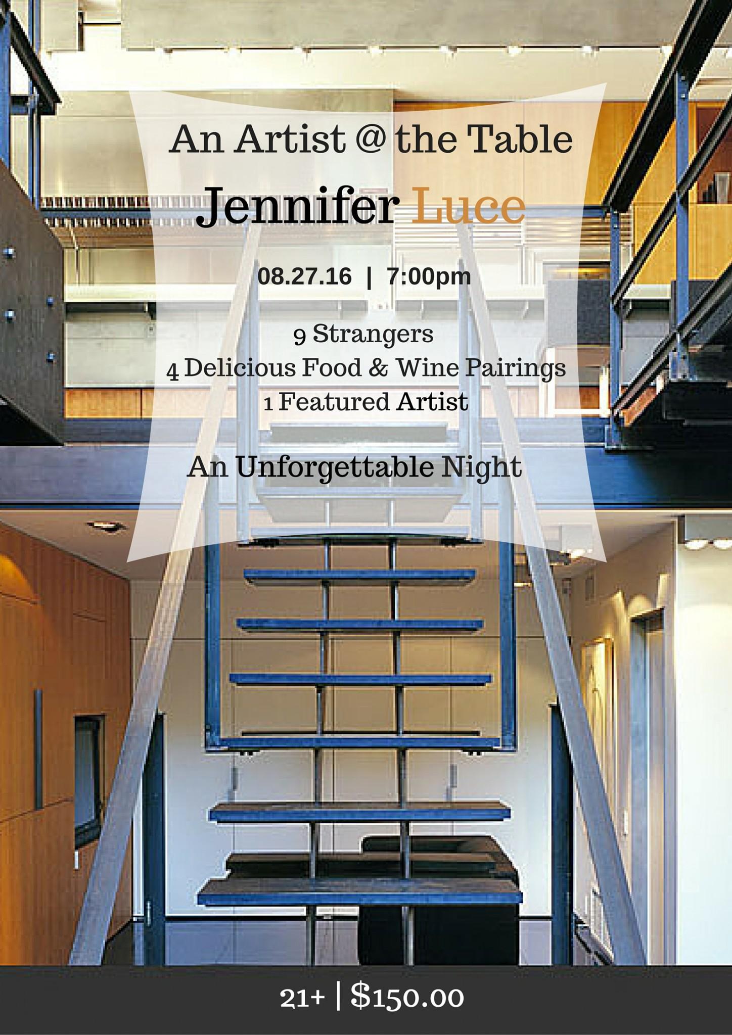 Artist @ the Table Jennifer Luce2